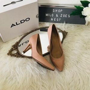 Aldo blush pink classy heels 7.5